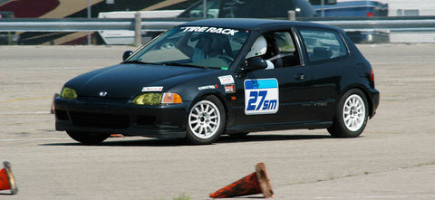 Christian Moist Autocrossing in 2009
