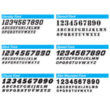 Round Panel Low-Tack Autocross Numbers