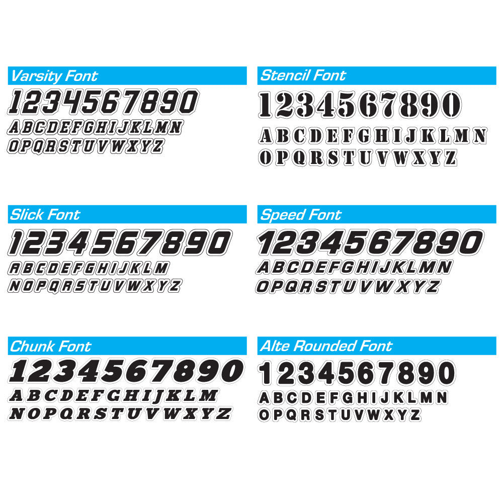 Magnetic Round Panel Autocross Numbers