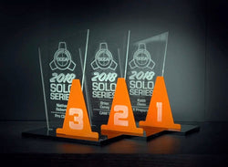 Acrylic Year End Awards with Cone