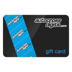 Autocross Digits Gift Card