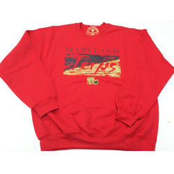 VNTG Terps Crewneck (Red)