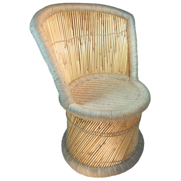 Natural Geo Moray Handmade Barrel Chair
