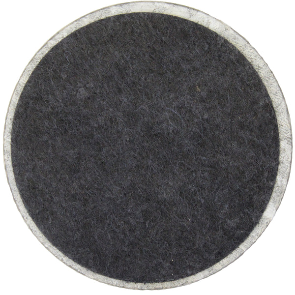 Natural Geo Gray Decorative Round Marble Drink Coaster (Set of 6)