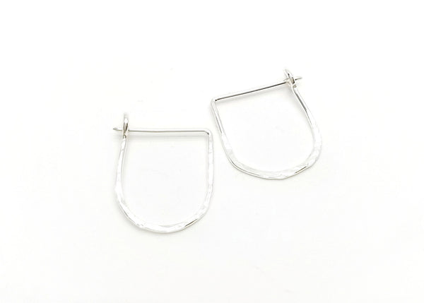 LanaBetty Crescent Hoop Earrings - LanaBetty - available from Majesty and Friends