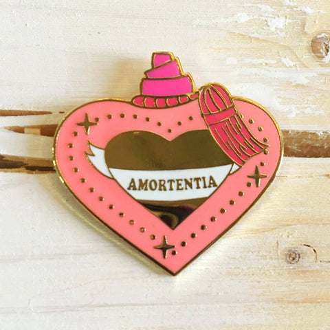 Amorentia Love Potion - Enamel Pin - Majesty and Friends - available from Majesty and Friends