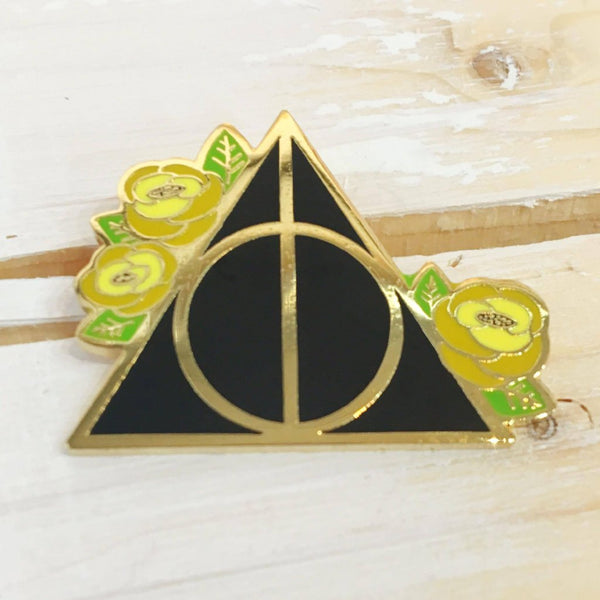 Deathly Hallows - Hufflepuff - Enamel Pin - Majesty and Friends - available from Majesty and Friends