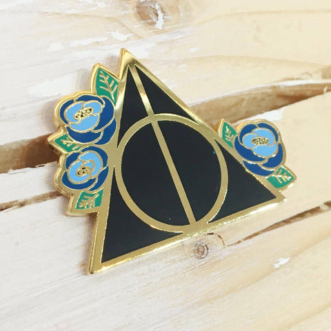Deathly Hallows - Ravenclaw - Enamel Pin - Majesty and Friends - available from Majesty and Friends