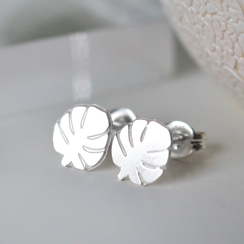 LanaBetty Monstera Post Earrings - LanaBetty - available from Majesty and Friends