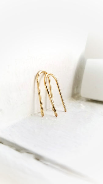 LanaBetty Parallel Arc Earrings - LanaBetty - available from Majesty and Friends