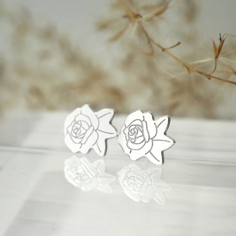 LanaBetty Rose Post Earrings - LanaBetty - available from Majesty and Friends