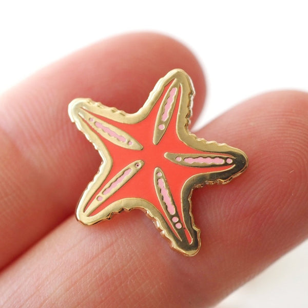 LanaBetty Starfish Enamel Pin - LanaBetty - available from Majesty and Friends