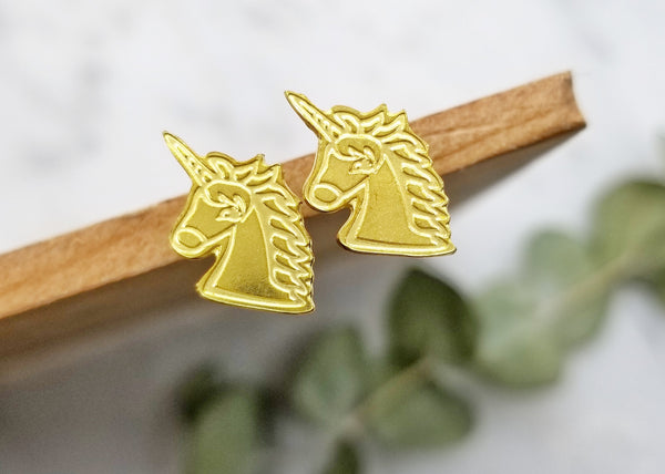 LanaBetty Unicorn Post Earrings