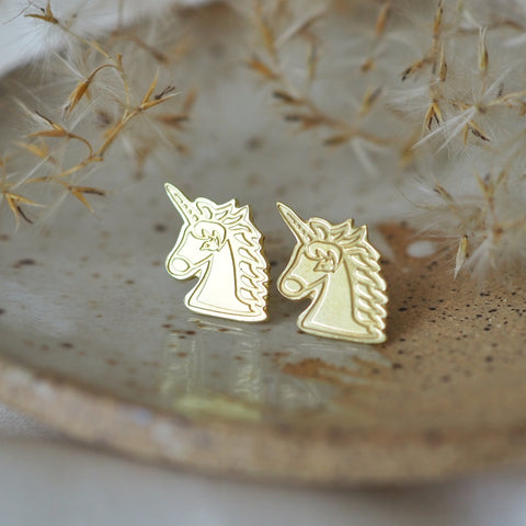 LanaBetty Unicorn Post Earrings *online exclusive*