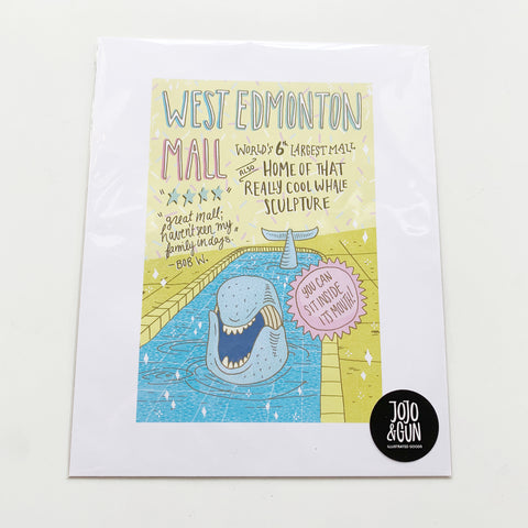 West Edmonton Mall Print - Jojo and gunn - available from Majesty and Friends
