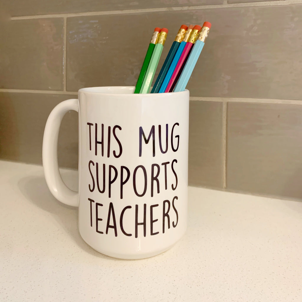 Teacher gift! We support you.