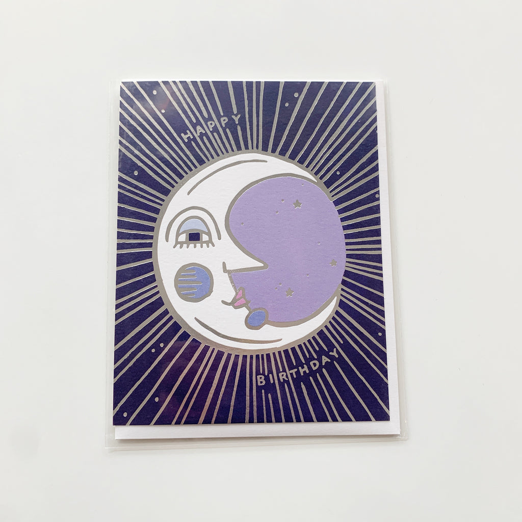 Card: Happy birthday Moon - Majesty and Friends - available from Majesty and Friends