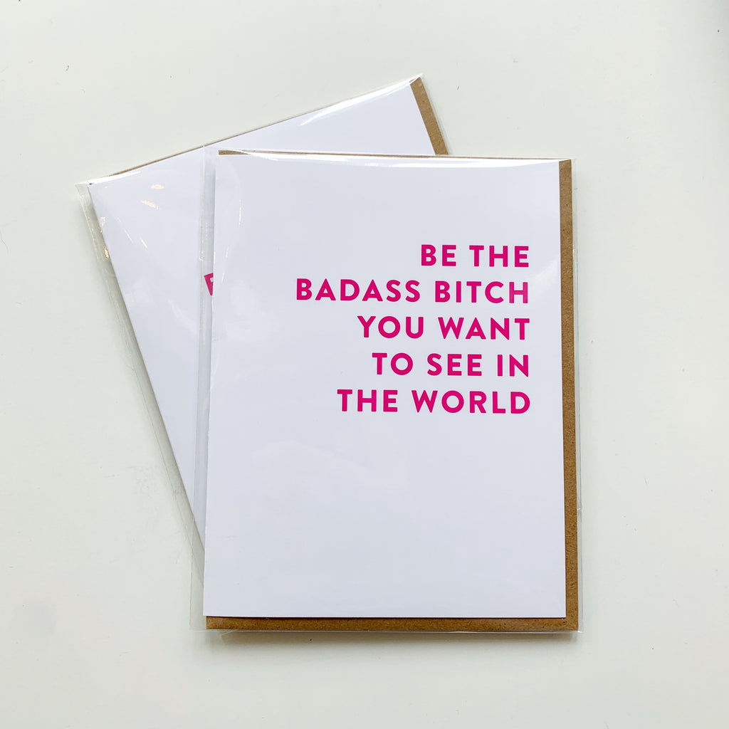 Card: Badass Bit** (mature) - Majesty and Friends - available from Majesty and Friends