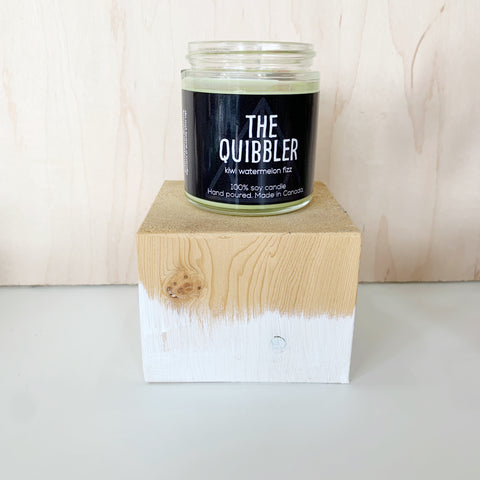 The Quibbler Candle 4 Oz pure soy - Majesty and Friends - available from Majesty and Friends