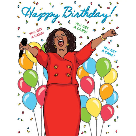Card: Birthday Oprah!