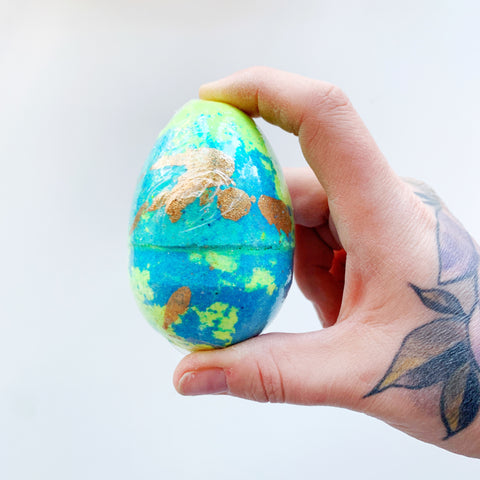 Easter Egg Bath Bombs - Sweet as Candy Bath - available from Majesty and Friends