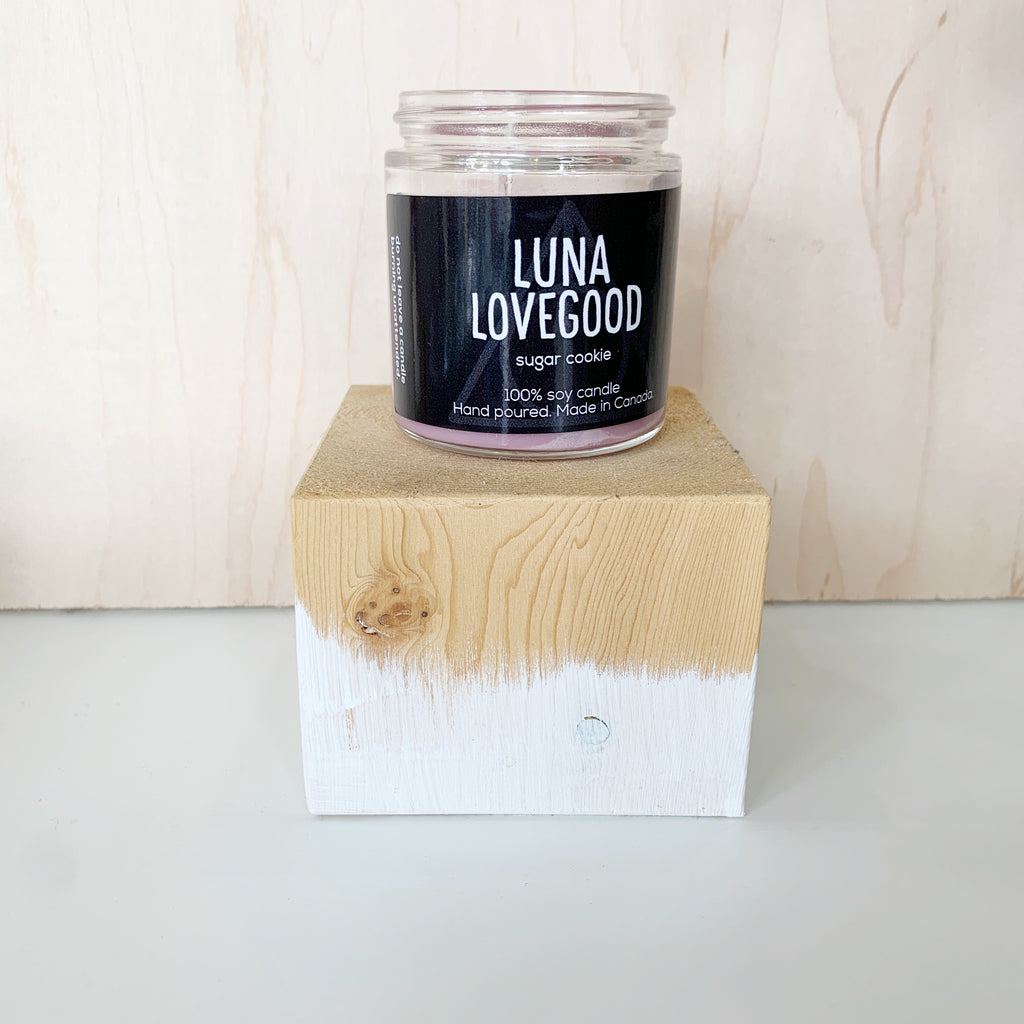 Love good Candle 4 Oz pure soy - Majesty and Friends - available from Majesty and Friends
