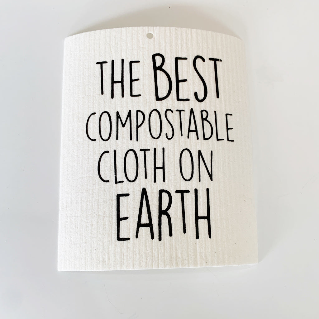 The Best Compostable Cloth Swedish Dishcloth - Majesty and Friends - available from Majesty and Friends