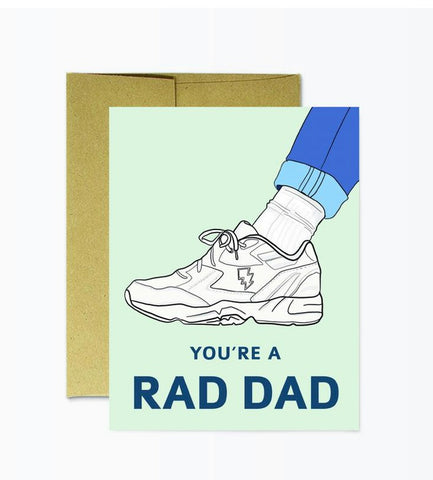 Card: Father's Day Rad Dad - Majesty and Friends - available from Majesty and Friends