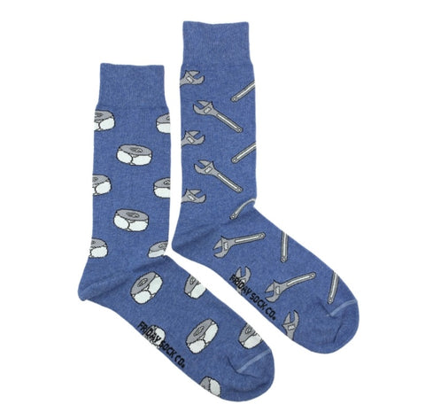 Friday Men's Socks Tools! - Friday socks - available from Majesty and Friends