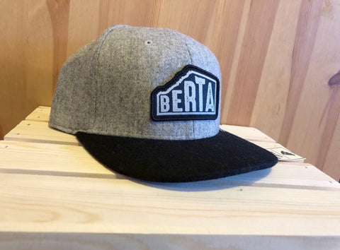 Berta hat in Grey - Brouhaha - available from Majesty and Friends