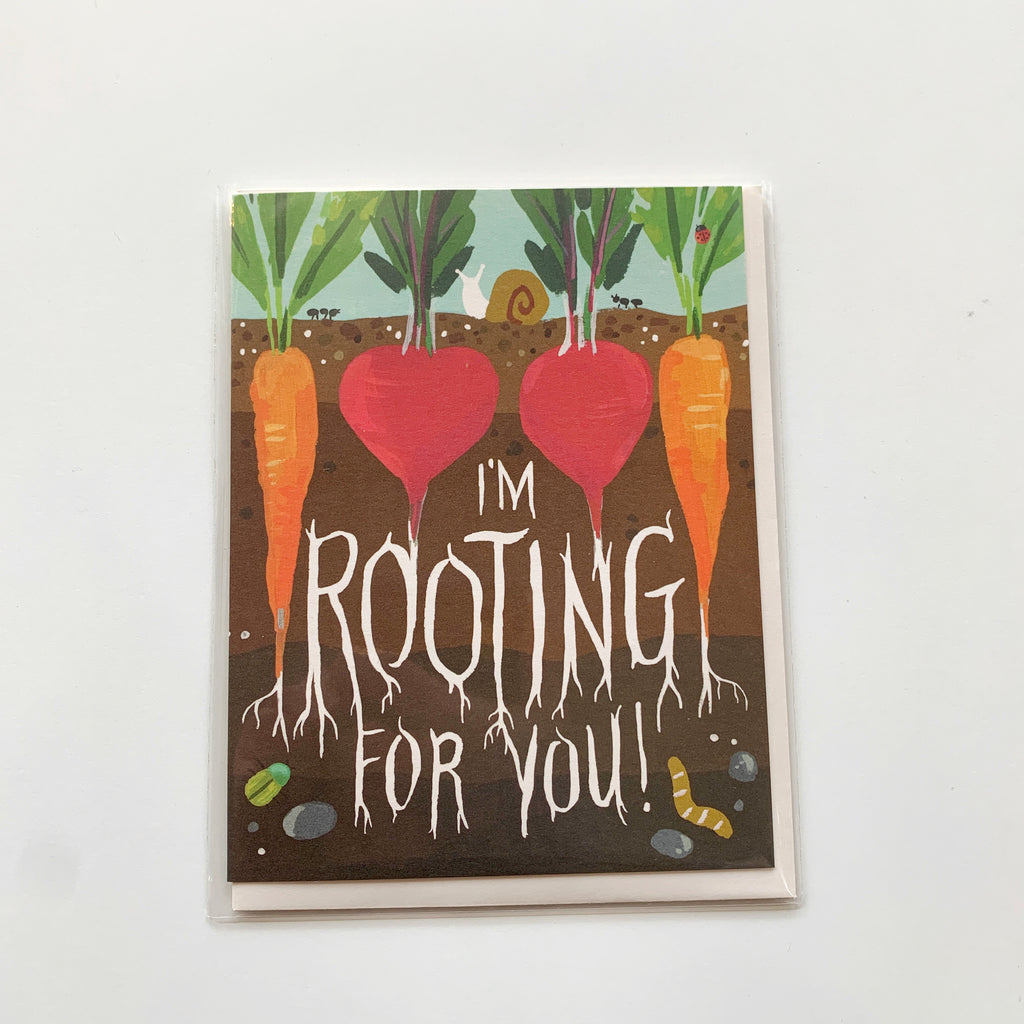 Card: Rooting for you! - Majesty and Friends - available from Majesty and Friends