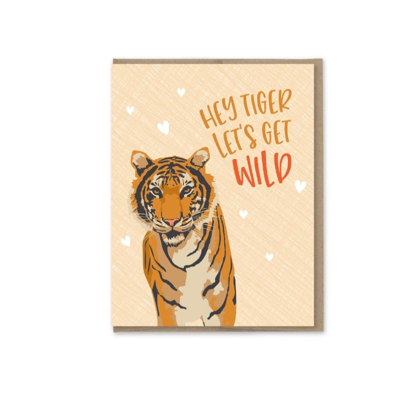 Card: Hey Tiger!!