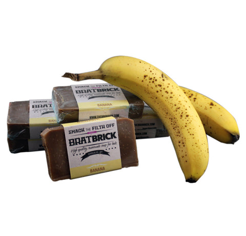 Banana Brat Brick by: Brobrick