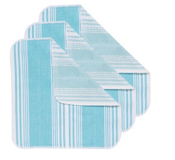 Scrub it Dishcloth in Aqua - Now designs - available from Majesty and Friends