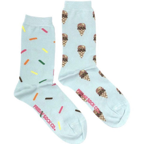 Friday Socks Ice Cream and sprinkles - Friday socks - available from Majesty and Friends