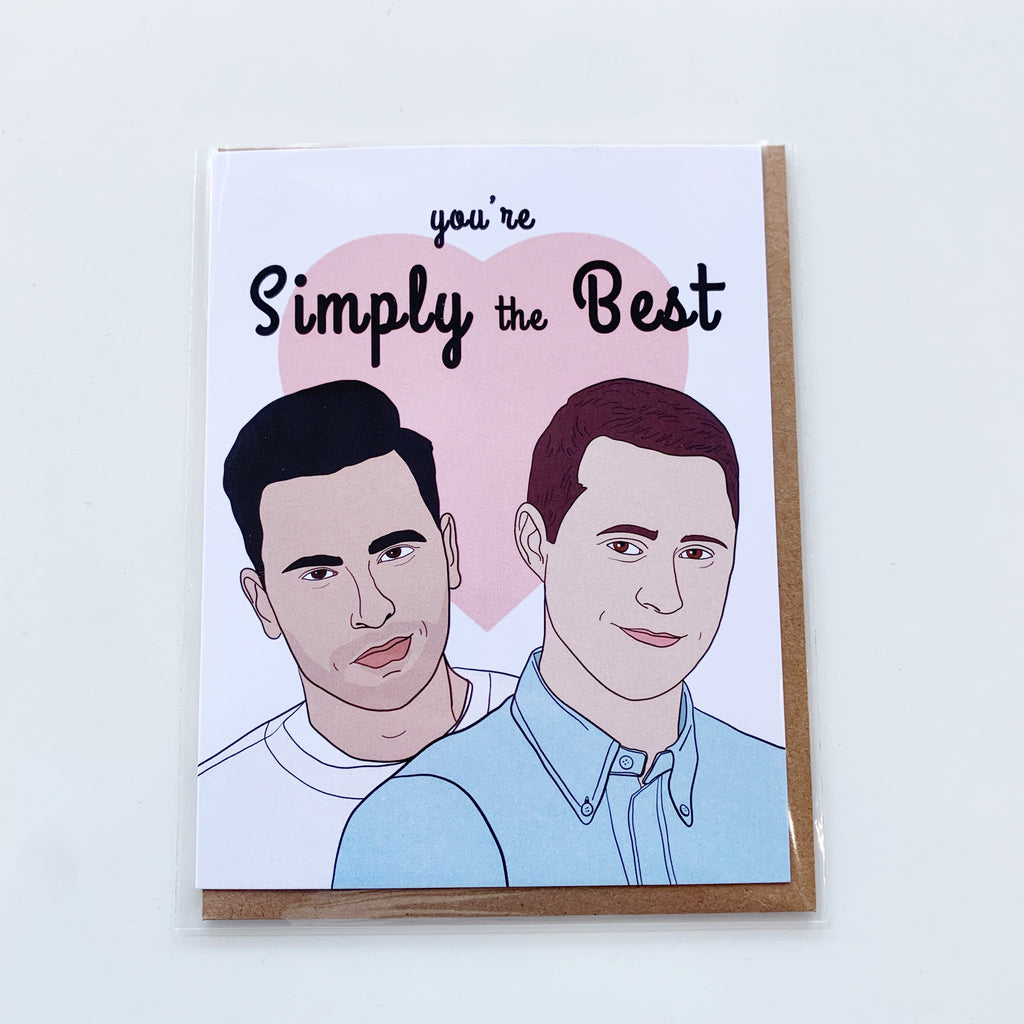 You're Simply the Best Card - Majesty and Friends - available from Majesty and Friends