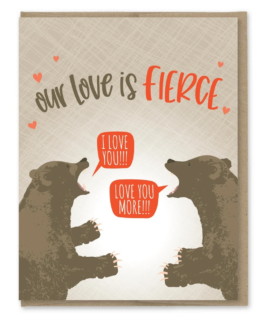 Card: Love is Fierce!