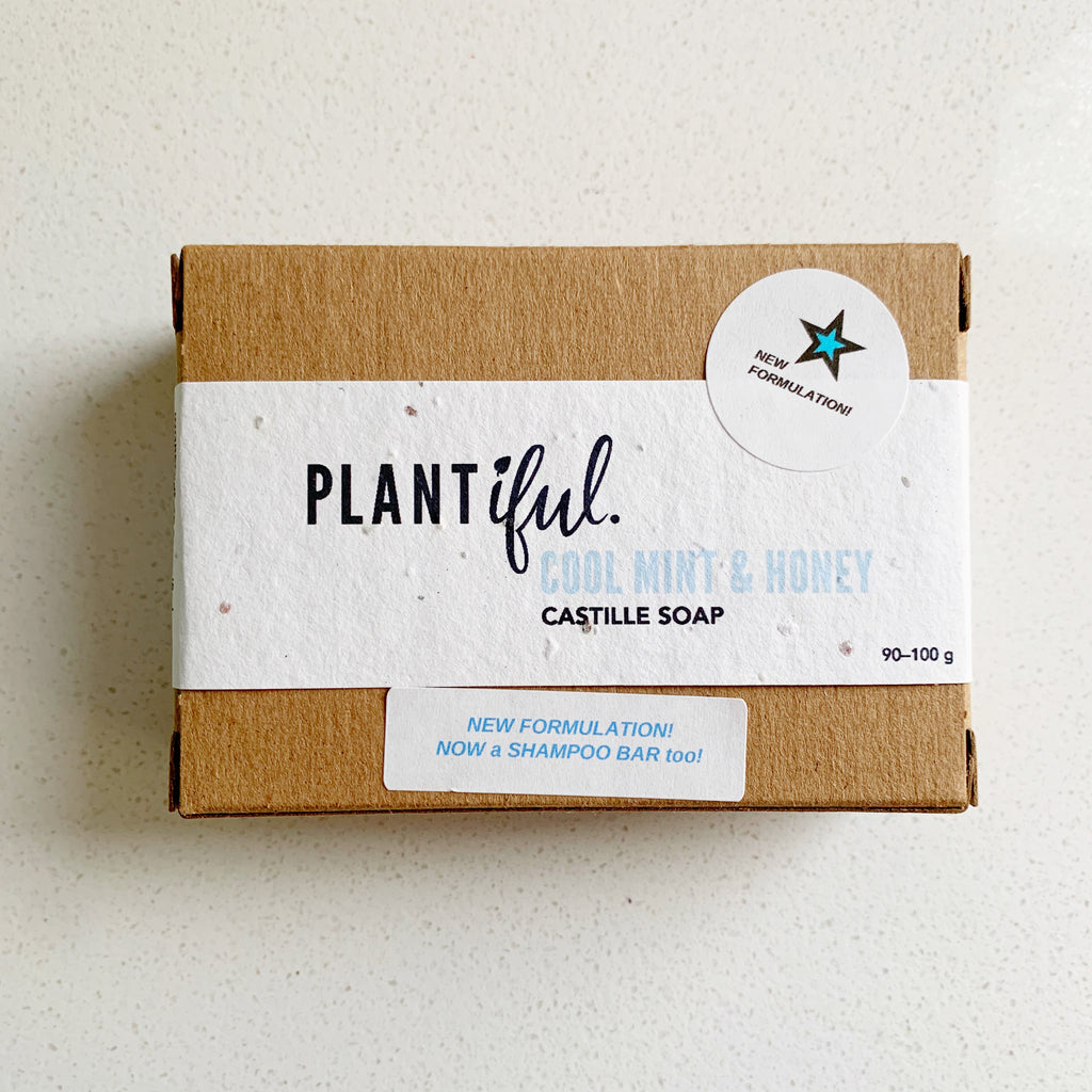 Shampoo Bar Plantiful - Plantiful - available from Majesty and Friends