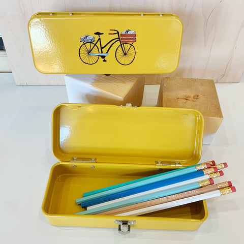 Bicycle Pencil Box!! - Danica - available from Majesty and Friends