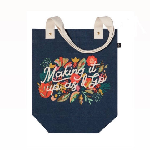 Tote bags! Making it up as I go!