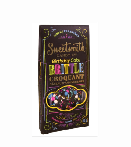 Sweet smith Birthday Cake Brittle Chocolate