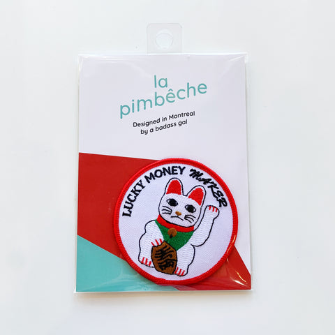 La Pimbeche lucky cat patch! - La pimbeche - available from Majesty and Friends