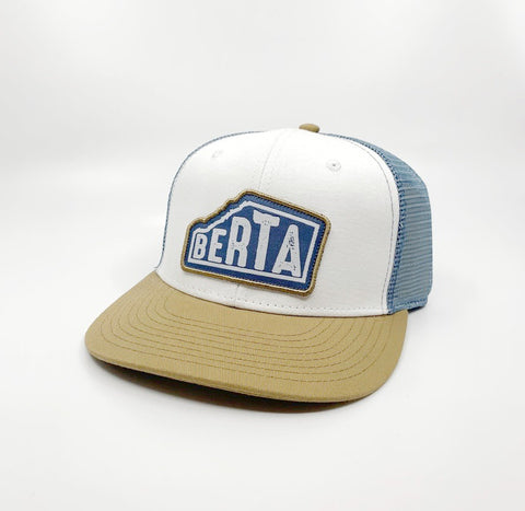 Berta hat white and blue! - Brouhaha - available from Majesty and Friends