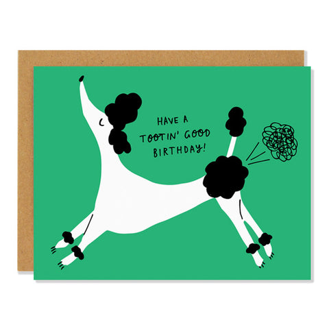 Card: Birthday Toots!