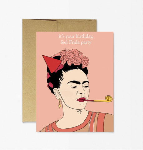Card: Frida Birthday! - Majesty and Friends - available from Majesty and Friends