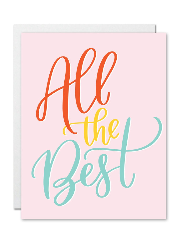 Card: All the best