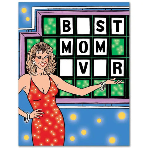 Card: Mothers Day Wheel of Fortune
