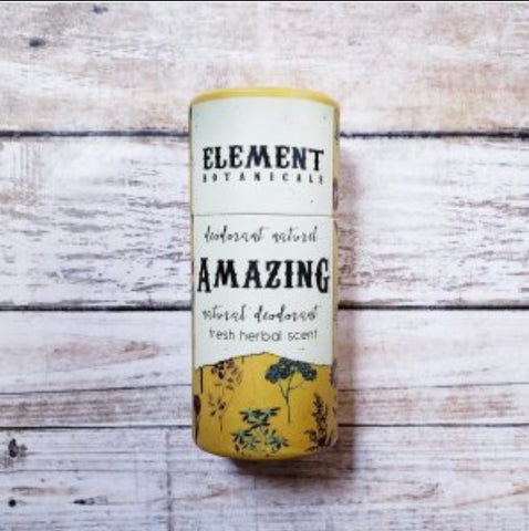Element Botanicals Amazing Natural Deodorant - Element Botanicals - available from Majesty and Friends
