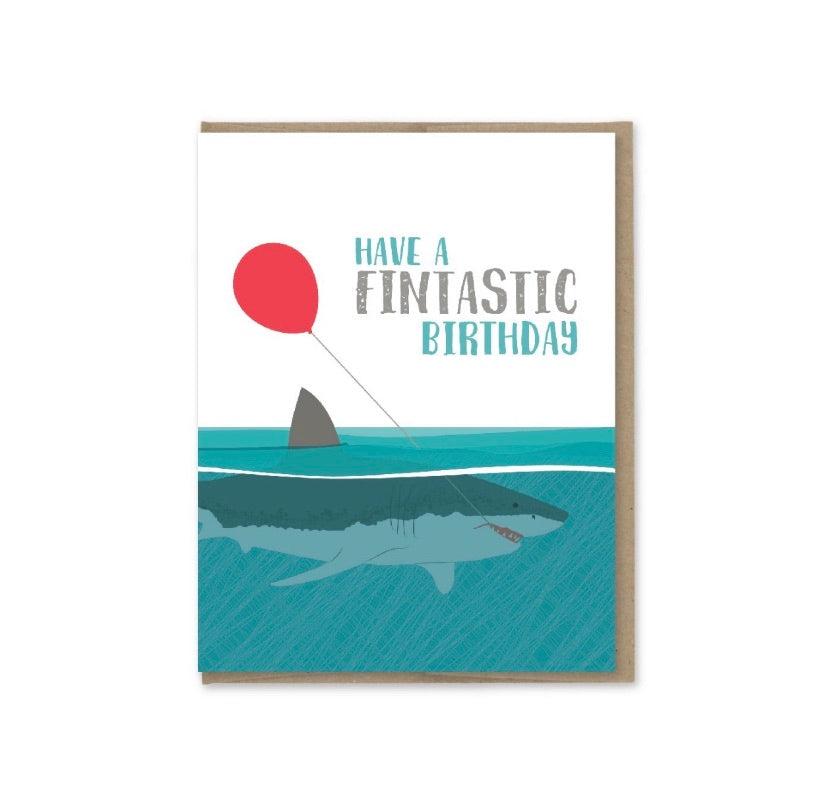 Card: Birthday Fintastic!