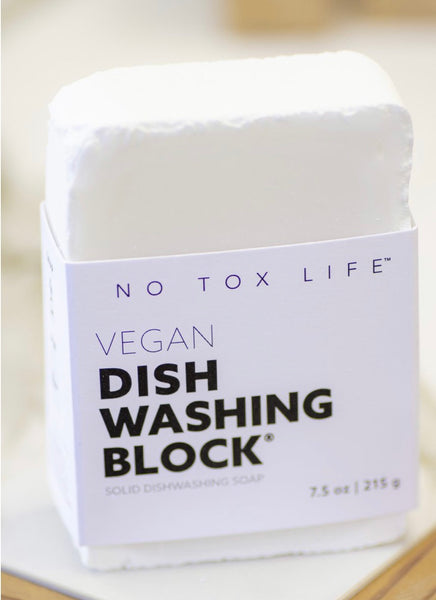 No Tox Life Solid Dishwashing Block - No Tox - available from Majesty and Friends